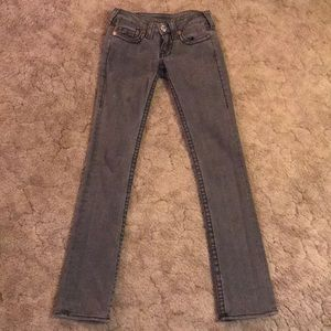 True Religion skinny jeans size 25